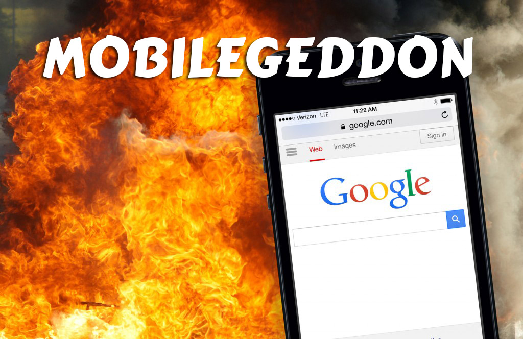 Mobilegeddon - Google's Mobile Friendly Update